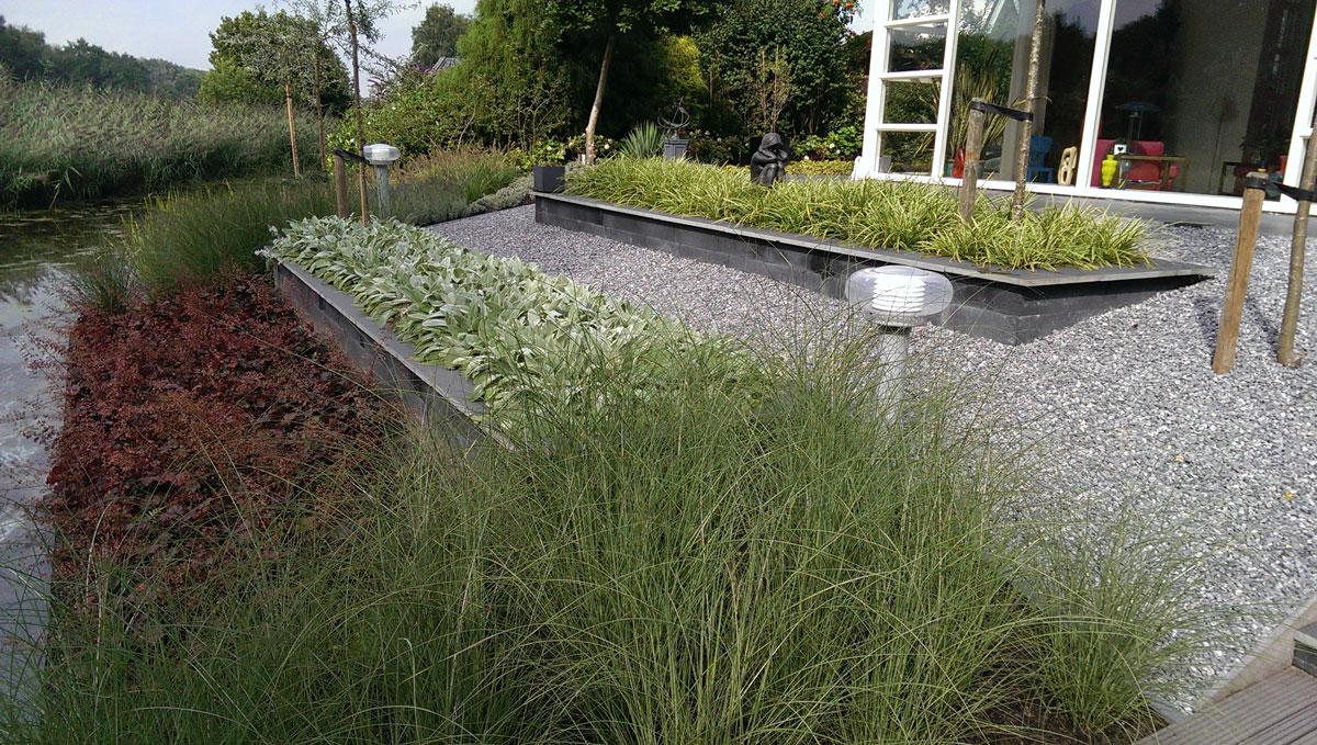 Design tuin hovenier art green lunteren - Tuin exterieur ontwerp ...