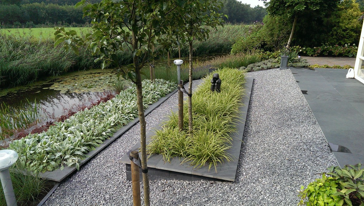 Design tuin hovenier art green lunteren - Designer tuin ...