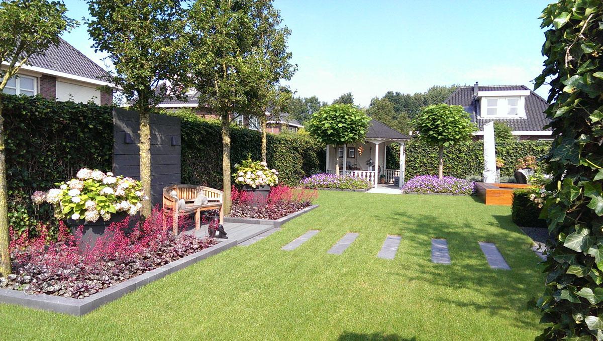 Moderne tuin hovenier art green lunteren