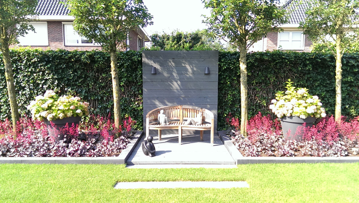 Moderne tuin hovenier art green lunteren for De eigentijdse tuin