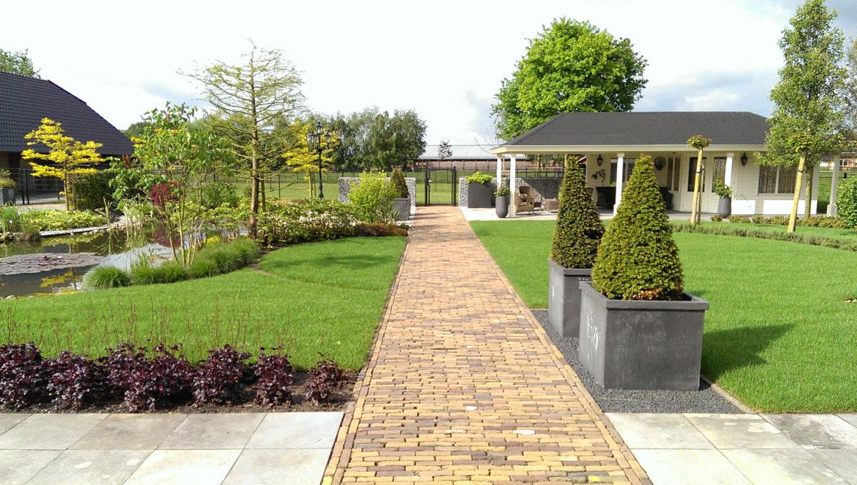 Voorbeeld tuin hovenier art green lunteren - Voorbeeld van tuin ...