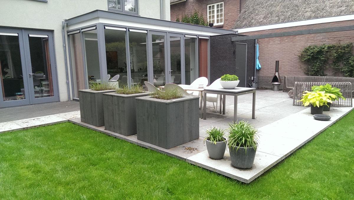 Voorbeeld tuinen - Hovenier Art & Green Lunteren